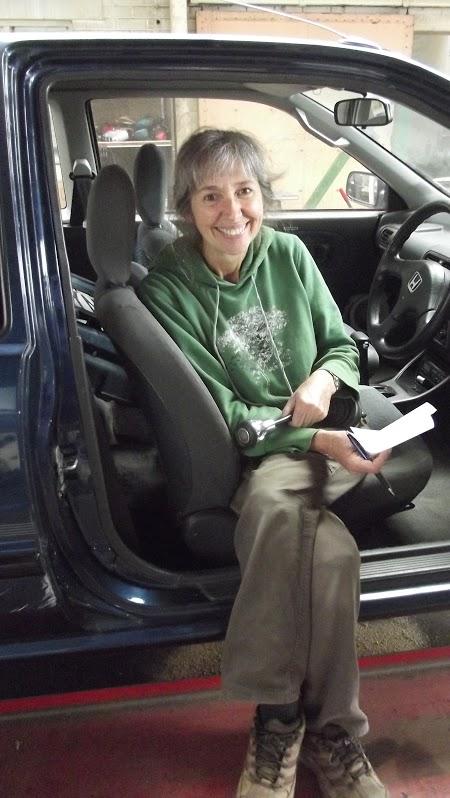 Rosemary in car Nov 15